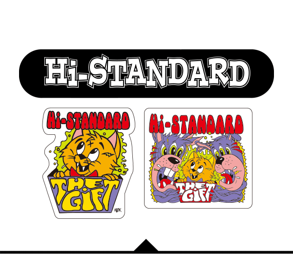 Hi standard the gift tour 2017 goods gift sticker set negle Images