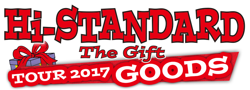 Standard the gift tour 2017 goods hi standard the gift tour 2017 goods negle Choice Image